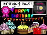 Birthday Clipart {TeacherToTeacher Clipart}