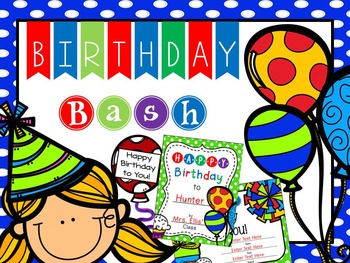 Birthday Bash: Celebrating Birthdays in the Classroom