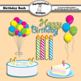 Birthday Bash Clip Art