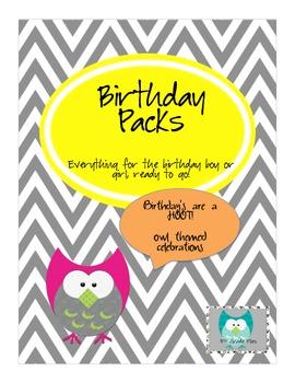 Birthday Bash Pack