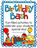 Birthday Bash! {Traditions to Celebrate Birthdays in Your Class}