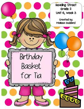Birthday Basket for Tia