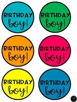Birthday Bead Tags!