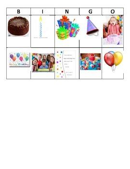 Birthday Bingo