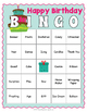 Birthday BINGO - Birthday Party Game