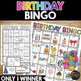 Birthday Bingo Activity Game {25 Different Bingo Cards with ONE Winner}