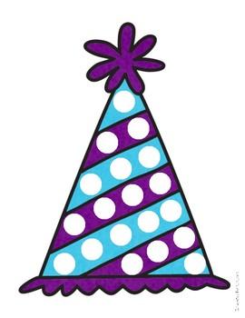 Birthday Bingo Dabber/Dot Marker Pages (Colorful Fine Motor)