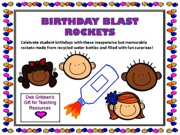 Birthday Blast Rockets