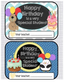 'Birthday Board' + Bonus Printables.