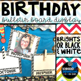 Birthday Board Bulletin Board Display