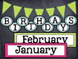 Birthday Board Classroom Decor