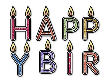 Birthday Board Design - Primary Colors