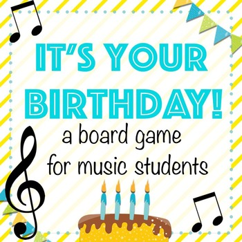 Music Board Game for Your Birthday