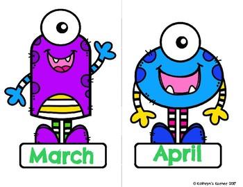 Birthday Board- Monster Theme