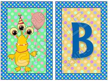 Birthday Board - Monsters