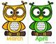 Birthday Board- Owl Theme