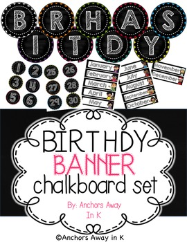 Birthday Board Set
