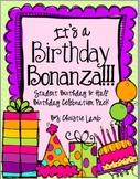 Birthday Bonanza {Celebrating Birthdays and Half Birthdays}