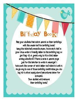 Birthday Book!