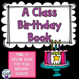 A special keepsake birthday book for your students!!