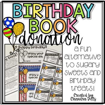 Birthday Book Donation