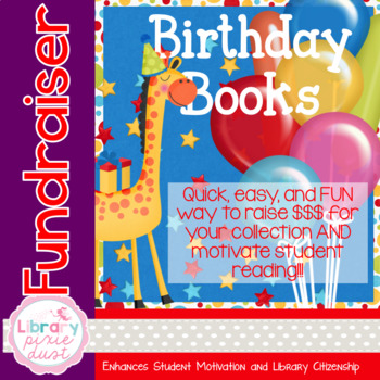 Birthday Book FUNDRAISER - Grab & Go Kit!