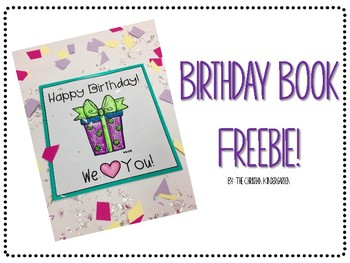 Birthday Book Freebie!!