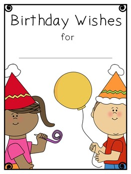 Birthday Book Freebie