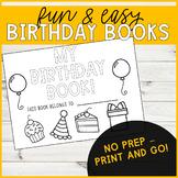Birthday Book (Grades K-5)
