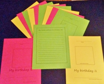 Birthday Book Kit