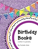 Birthday Book Letter