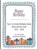 Birthday Book Packet