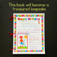 Birthday Book for UK / Australia / Canada with A4 formatting - Back to school