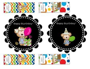 Birthday Bookmarks