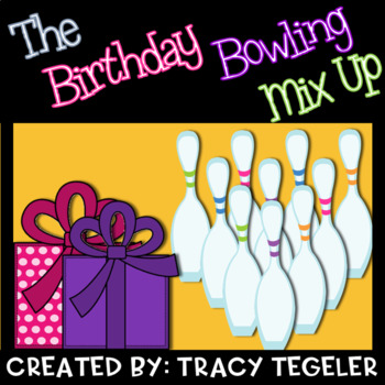 Birthday Bowling Mix Up (Critically Reading, Analyzing Information, & Inferring)