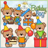 Birthday Boy Bears Clip Art - Birthday Clip Art - CU Clip