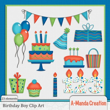 Birthday Boy Clip Art