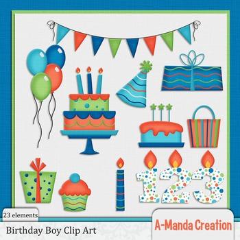 Birthday Boy Clip Art