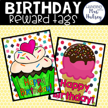 Birthday Reward Tags