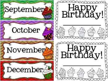 Birthday Brights-Mini Birthday Board