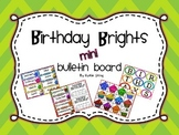 Birthday Brights-Mini Birthday Board