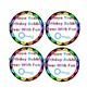 Birthday Bubble Tags