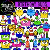 Birthday Buds: Birthday Clipart {Creative Clips Clipart}