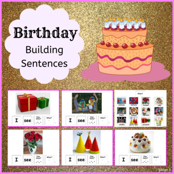 Birthday Building Sentences