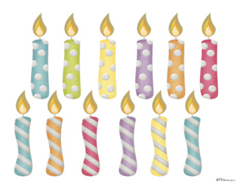 image about Birthday Candle Printable named Birthday Bulletin Board