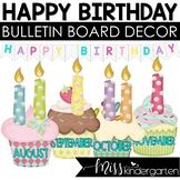 Birthday Cupcake Bulletin Board | Birthday Display