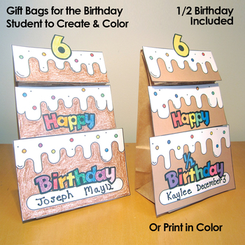 Birthday Display Bulletin Board Chart