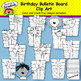 Birthday Bulletin Board & Clip Art