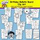 Birthday Bulletin Board & Clip Art