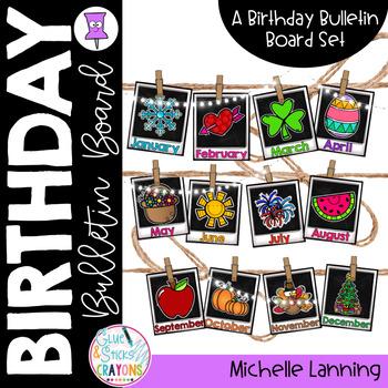 Birthday Bulletin Board Decor